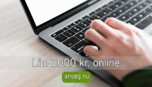 Lån 2000 kr. online