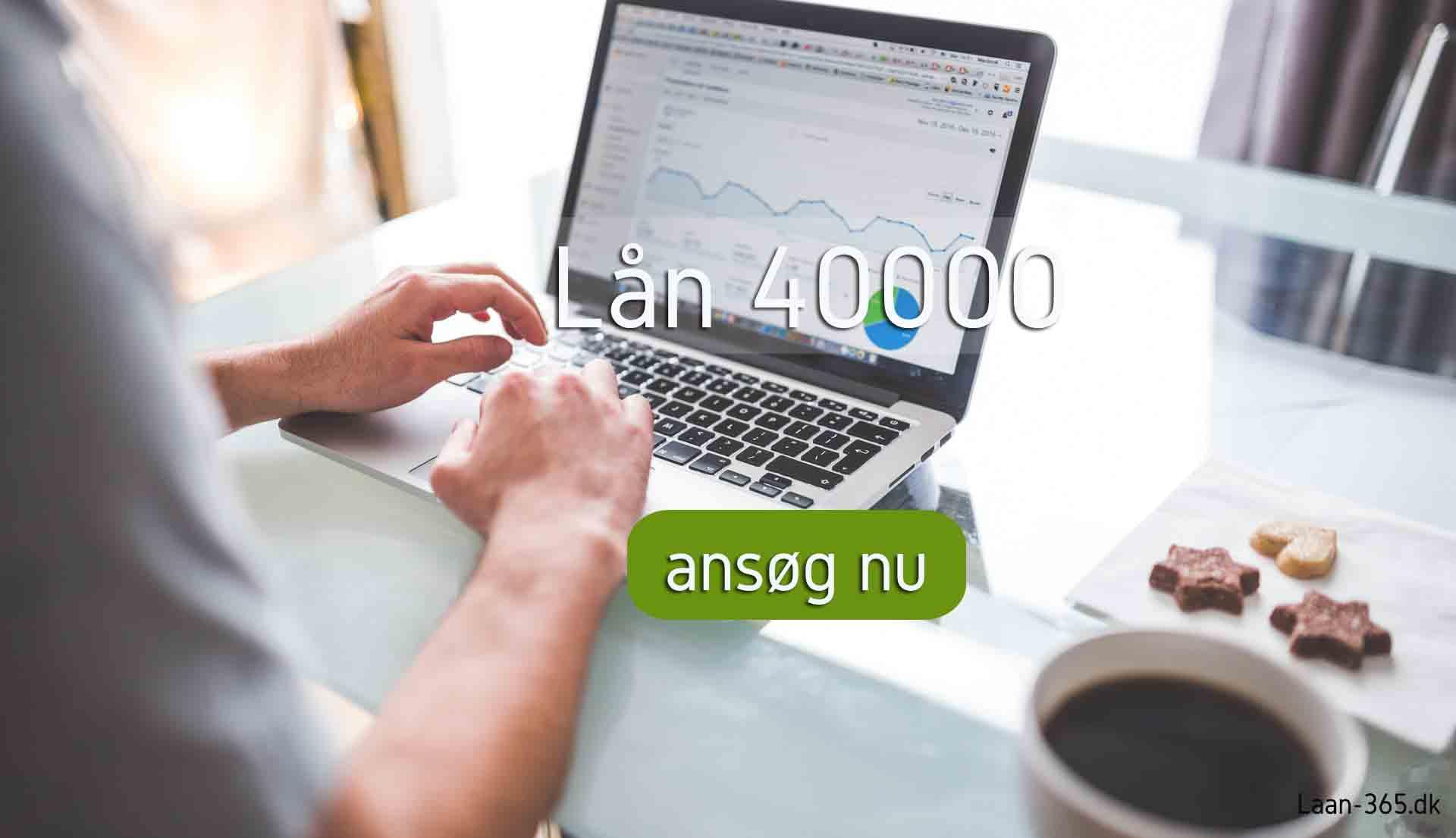 lån 40000 billigt