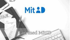 Lån med MitID