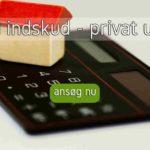 Lån til indskud - privat udlejer