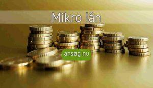 Mikro lån